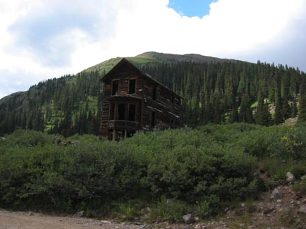 Building in Animas Forks