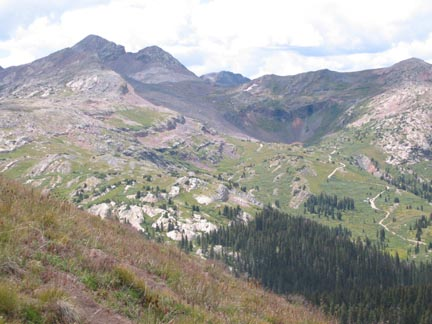 Beartown Road and the Kite Lake basin