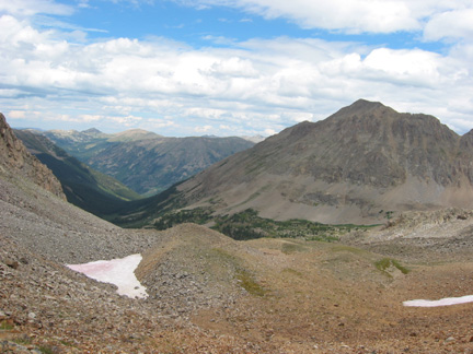 View north from Tellurium Pass