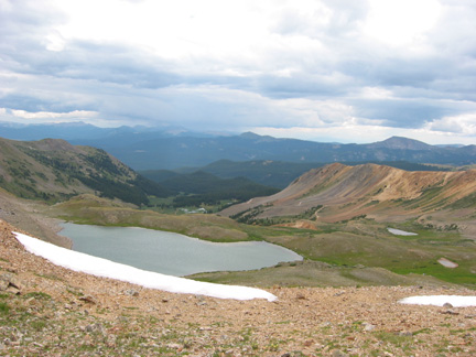 View south from Tellurium Pass